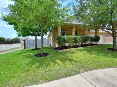 Leander Single Family Home For Sale: 319 Sendero Ln