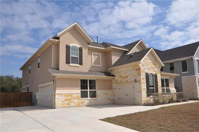 Leander Single Family Home For Sale: 4401 Cherry Bark Dr