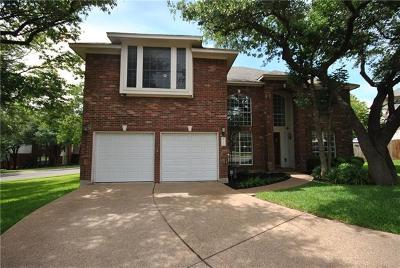 Round Rock Single Family Home For Sale: 3101 S Oak Branch Pl S