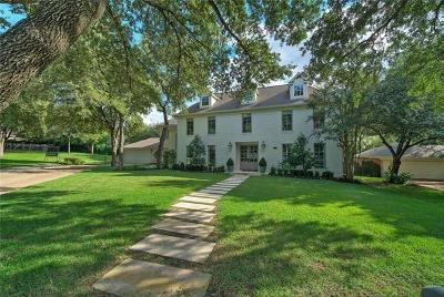 Austin Single Family Home For Sale: 2907 Montebello Ct