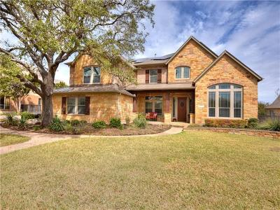 Round Rock Single Family Home For Sale: 2105 Park Oak Dr
