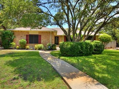Round Rock Single Family Home For Sale: 3103 Elm Trl