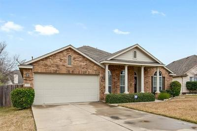 Pflugerville Single Family Home Pending - Taking Backups: 18912 Carlisle Castle Ct