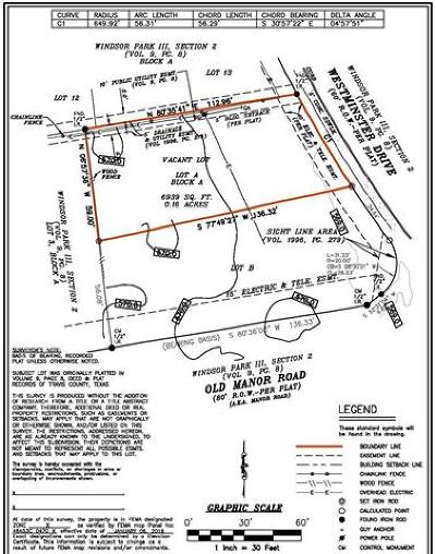 Residential Lots & Land For Sale: 5302 Westminster Dr