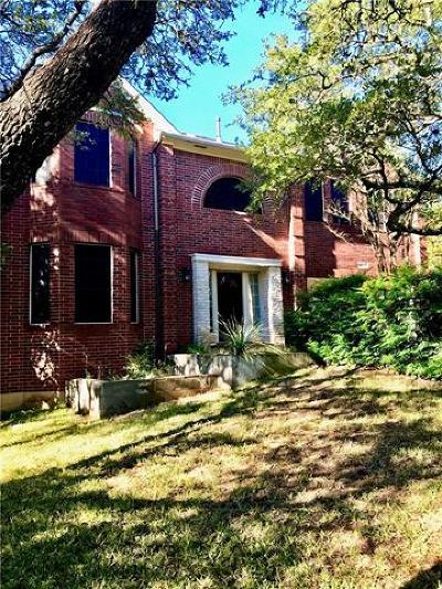 Austin Single Family Home Pending - Taking Backups: 10601 Sierra Oaks