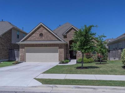 Leander Single Family Home For Sale: 2805 Coral Valley Dr