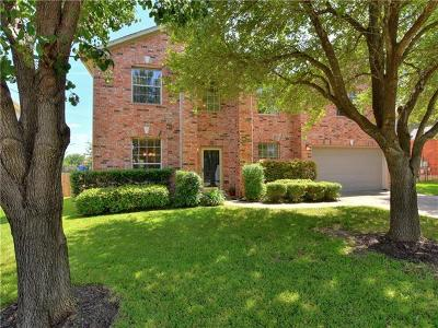 Round Rock Single Family Home For Sale: 16747 Marsala Springs Dr