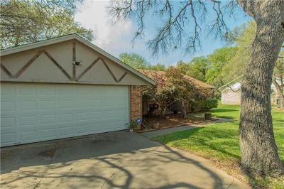 Georgetown Single Family Home Pending - Taking Backups: 1006 Segundo Dr