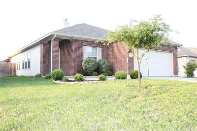 Hutto Single Family Home For Sale: 314 Rinehardt St