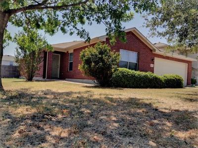 Jarrell Single Family Home For Sale: 125 Brickyard Ln