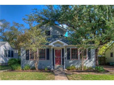 Austin Single Family Home For Sale: 1016 E 43rd St
