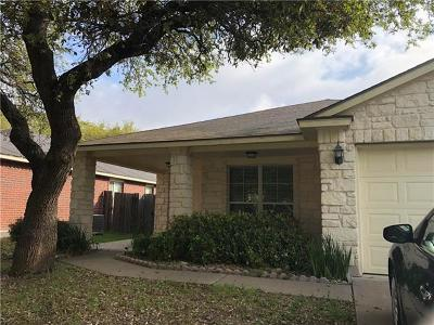Round Rock Single Family Home Pending - Taking Backups: 3627 Spring Canyon Trl