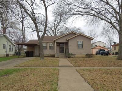 Temple Single Family Home For Sale: 1413 S 11th St
