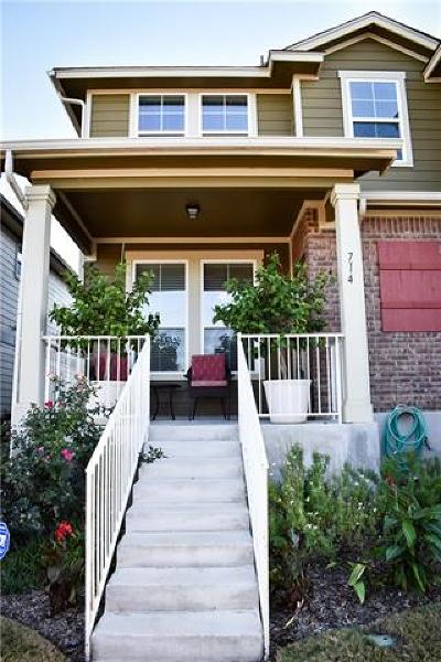 Condo/Townhouse For Sale: 714 Lost Pines Ln