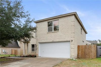 Cedar Park Single Family Home For Sale: 1503 Rhapsody Ridge Dr