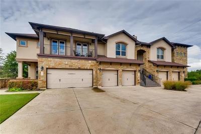 Austin, Lakeway Condo/Townhouse For Sale: 832 San Remo Blvd #31B