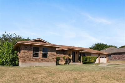 Burnet County Single Family Home For Sale: 802 Harvey Ave