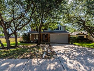 Cedar Park Single Family Home For Sale: 506 Stallion Dr