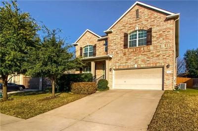 Round Rock Single Family Home For Sale: 2530 Ravenwood Dr