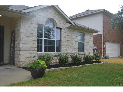 Hutto Single Family Home Pending - Taking Backups: 202 Hanstrom Dr