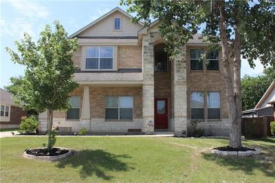 Pflugerville Single Family Home For Sale: 213 Timothy John Dr