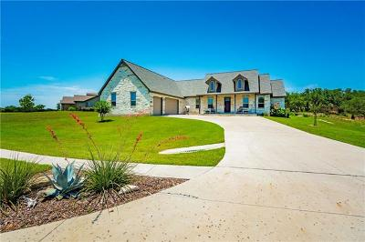 Burnet County Single Family Home For Sale: 602 Pheasant Mdw