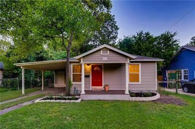Austin Single Family Home For Sale: 4609 Avenue D