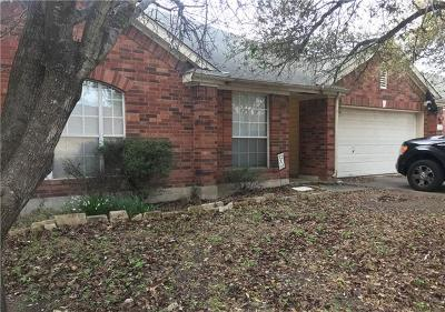 Pflugerville Single Family Home Pending - Taking Backups: 16902 Isle Of Man Rd