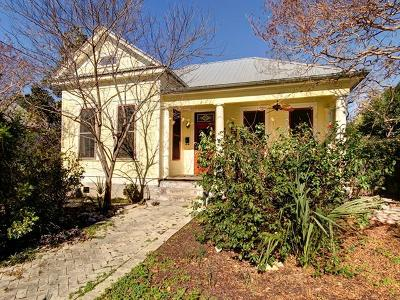 Austin Single Family Home For Sale: 1208 Hackberry St