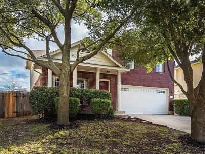 Round Rock Single Family Home For Sale: 1836 Wallin Loop