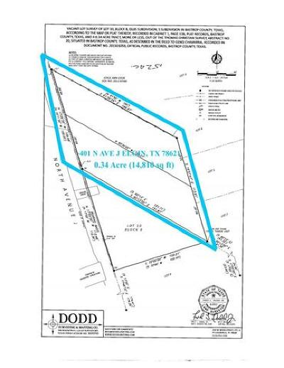 Elgin Residential Lots & Land For Sale: 401 N Avenue J