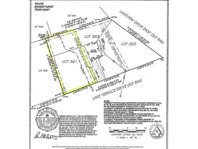 Residential Lots & Land For Sale: 18302 Lake Terrace Dr