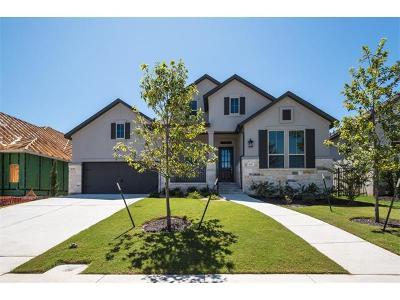 Georgetown Single Family Home For Sale: 428 Pienza Dr