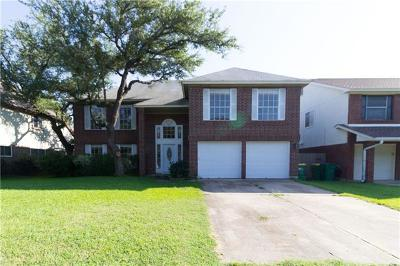 Cedar Park Single Family Home For Sale: 2806 Buckeye Trl