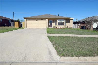 Killeen Single Family Home For Sale: 3301 Windfield Dr