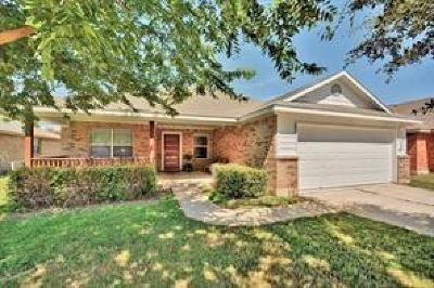 Round Rock Single Family Home For Sale: 1308 Kenneys Way