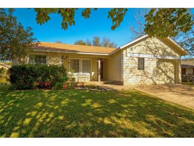 Austin Single Family Home For Sale: 2812 Firecrest Dr