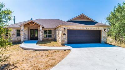 Burnet County Single Family Home For Sale: 3001 Morgan Cir