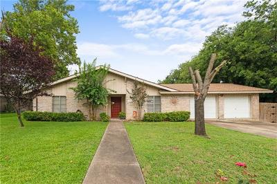 Round Rock Single Family Home Pending - Taking Backups: 1904 Montclair Dr