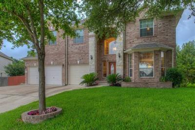 Round Rock Single Family Home For Sale: 3006 Angelico Cv