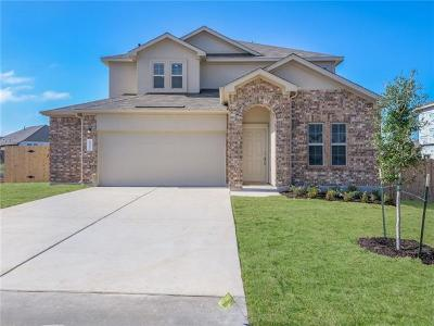 Round Rock Single Family Home For Sale: 6512 Verona Place