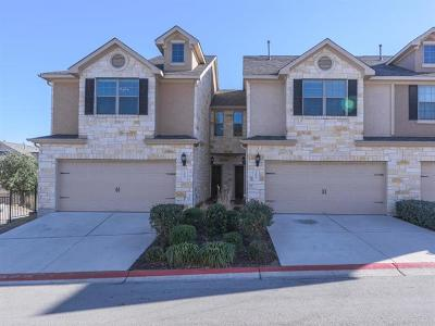 Cedar Park TX Condo/Townhouse For Sale: $225,000