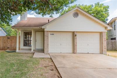 Austin Single Family Home Pending - Taking Backups: 14485 Robert I Walker Blvd