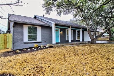 Travis County Single Family Home Pending - Taking Backups: 11807 Knollpark Dr