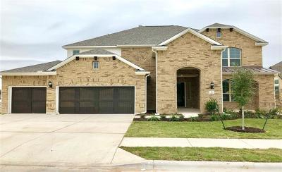 Leander Single Family Home For Sale: 1408 Saddlespur Ln