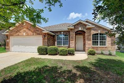 Round Rock Single Family Home For Sale: 1529 Clary Sage Loop