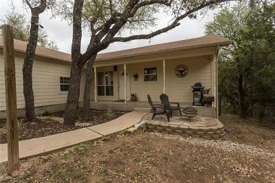 Spicewood Single Family Home Pending - Taking Backups: 115 Rolling Hills Dr