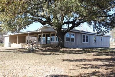 Burnet County Single Family Home Pending - Taking Backups: 1003 Overlook Dr