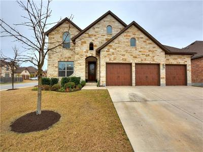 Cedar Park Single Family Home For Sale: 1701 Ambling Trl