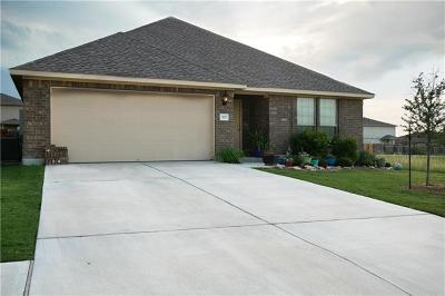 Leander Single Family Home For Sale: 937 Coulee Dr